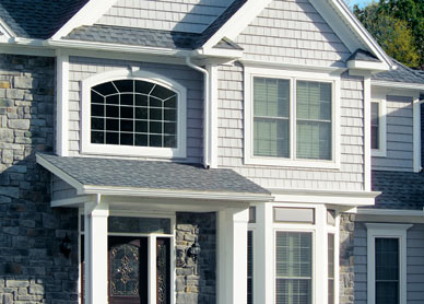 Architectural classics shakes and scallops for Best windows for new house