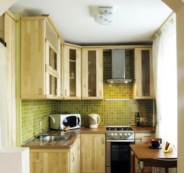 Small Space Kitchen Design Suggestions